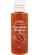 Emotion Lotion Flavored Water Based Warming Lotion Pralines...