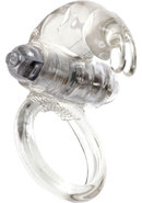Linx Classic Rabbit Vibrating Cock Ring Clear